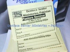 I am so EXCITED!!!! Deniece Senter Ministries - Pakistan is getting ready for our BIG pastor's consecration, Monday. I will be preaching via SKYPE. Pastors will receive DSMDeniece Senter Ministries - Pakistan certificates to preach the Gospel of Jesus.They can see your post. You may help donate toward this cause by texting a financial love offering to DSM @ 815-587-0859 or send a check or money order to Deniece Senter Ministries, 410 8th St. Rockford, IL. 61104.