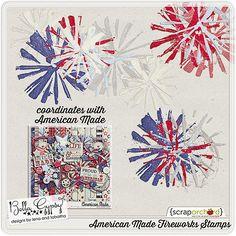 Scrapbooking TammyTags -- TT - Designer - Bella Gypsy,  TT - Item - Element, TT - Theme - Patriotic or July 4th