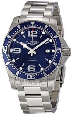Longines HydroConquest Automatic Stainless Steel Mens Watch L36424966