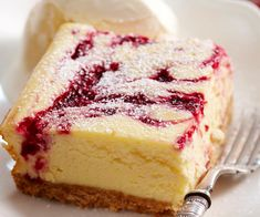 Savory magic cake with roasted peppers and tandoori - Clean Eating Snacks Raspberry Cheesecake, Chocolate Cheesecake, Cheesecake Bars, Cheesecake Recipes, Dessert Recipes, Classic Cheesecake, Delicious Desserts, Yummy Food, Raspberry Ripple