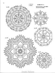 ISSUU - Crochet motif by vlinderieke