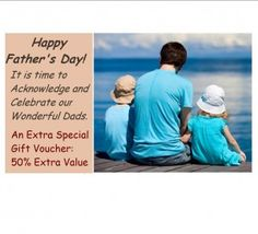 Reward Dad this Father's Day with an Extra Special Gift Voucher