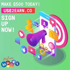 Earn cash now Earn Free Money, Ways To Earn Money, Earn Money Online, Way To Make Money, How To Make, Earning Money, Online Income, Cash Now, Fast Cash