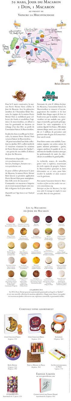 20 marzec Dzień Makaroników w #Paryżu http://bit.ly/1F82GAV
