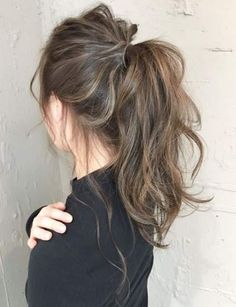 20 Popular Balayage Brown Hair Colors of 2019 - Style My Hairs Hair Color Highlights, Ombre Hair Color, Medium Hair Highlights, Asian Hair Highlights, Dark Brown Highlights, Hair Colour, Medium Hair Styles, Curly Hair Styles, Natural Hair Styles