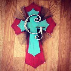 DIY wooden cross