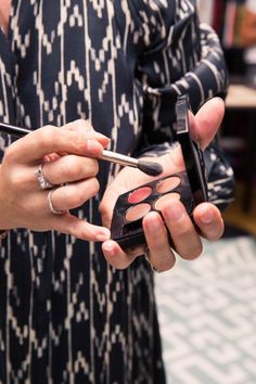 How Actress Coco König Gets Ready for a W Magazine Luncheon: Eyeshadow Palette | coveteur.com