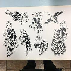 Traditional Tattoo Flash, American Tattoos, Vintage Designs, Old School, Tatting, Study, Classic, Gold, Tattoo Art