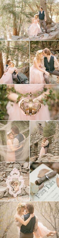 Enchanted Fairytale Engagement photo - Enchanted