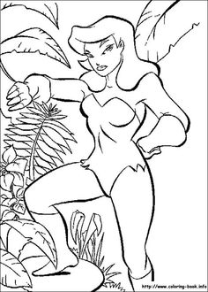 This Batman printable colouring sheet show the female villain Poison Ivy from the Dc comics batman universe. Poison Ivy is standing surrounded by her favorite things - plants! Batman Coloring Pages, Online Coloring Pages, Cool Coloring Pages, Printable Coloring Pages, Adult Coloring Pages, Coloring Pages For Kids, Coloring Sheets, Coloring Books, Kids Coloring
