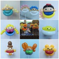 Disney Balloon Hat, Balloon Crafts, Balloon Animals, Balloon Decorations, Balloons And More, Mini Balloons, Diy Craft Projects, Diy And Crafts, Lego Friends Party