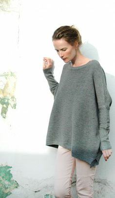 Grey Jill sweater - Plümo Ltd
