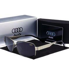 6a87873bc1ff07 gafas de sol hombre audi quatto logs Conducción protec UV400 polarizadas  grey