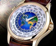 Patek Philippe 1939 Platinum World Time Watch – $4.1 million