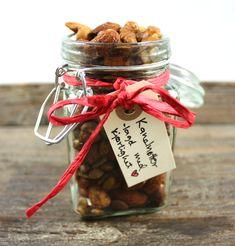 Oppskrift Enkle Spiselige Julegaver Hjemmelaget Kanelnøtter Ristede Nøtter