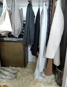 peaceful closet