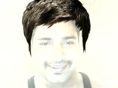 Prashant Katiyar's funny picture