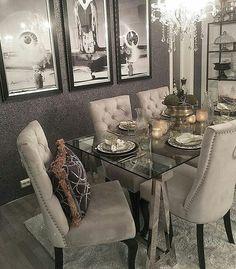 """Classic Living🎀 στο Instagram: """"#Repost @monicas_home 👏🌿 Endelig er de nye spisestolene kommet i hus ✨⭐️✨ Ha en superfin kveld…"""" • Instagram"""