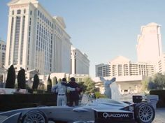 Formula E racing is coming to America and it is coming in style. Check this out... #U.Sracing #VegasBaby