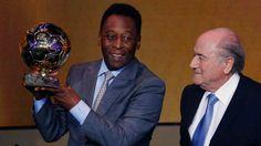 Pele given honorary Ballon d'Or