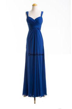 Royal Blue Bridesmaid Dress / Bridesmaid Dresss / by DressHome THE TOP!!