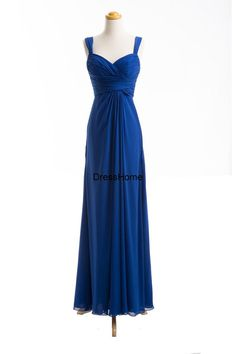 Royal Blue Bridesmaid Dress / Bridesmaid Dresss / by DressHome