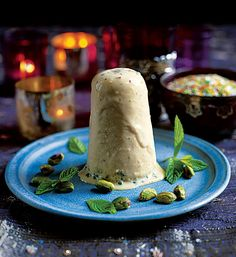 This Indian Malai kulfi recipe, or almond and pistachio ice cream, is rich and satisfying.
