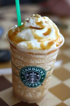 Spiced Apple Frappuccino - 15 New Secret Starbucks Drinks for Fall and Winter