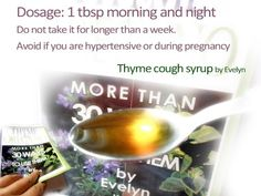 Cough syrup recipe | Handy Book Series by Evelyn https://evelinbooks.wordpress.com/2014/12/12/cough-syrup-recipe/