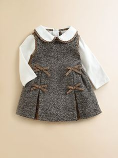 Tweed; I would liked to make this for my grand-daughter and niece...and change the size, I would not mind one myself!