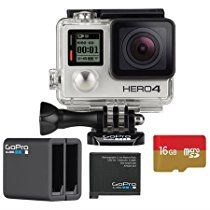 Silver eliminates the need for an LCD BacPac. It is able to capture Full HD at up to 60 fps and - for even more detailed shots - captur. Gopro Shop, Gopro Camera, Amazon Price, Camcorder, Hd 1080p, Drip Coffee Maker, Espresso Machine, Charger, Action