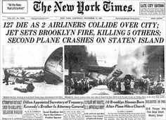 Front page of the New York Times on Dec 17 1960
