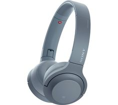 Buy SONY h.ear Series WH-H800 Wireless Bluetooth Headphones - Blue, Blue Price: £199.99 Top features: - Compact on-ear style lets you immerse yourself in your music - Compatible with Hi-Resolution audio to hear every detail - Hands-free calls with a built-in microphone Compact on-ear styleThe Sony h.ear Series WH-H800 Wireless Bluetooth Headphones have a compact on-ear style that allow you to...
