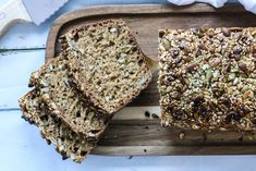 SPIS MAGEN FLAT | brød - Fitfocuse Pesto, Food Inspiration, Scones, Banana Bread, Nom Nom, Food And Drink, Low Carb, Healthy Recipes, Healthy Food