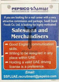 Male Merchandiser Job In Dubai Abudhabi And Sharjah  Jobifyme