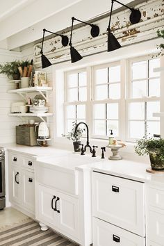New Kitchen Wall Sconces Over The Sink - Liz Marie Blog Cost Of Kitchen Cabinets, Kitchen Remodel Cost, Kitchen Walls, Bathroom Cabinets, Bathroom Sinks, Bath Remodel, Diy Kitchen, Kitchen Interior, Kitchen Decor