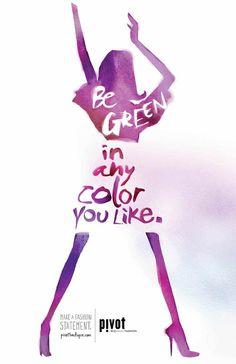 Pivot Boutique:  Green