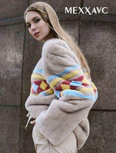 Season 2017-2018 loves prints. Designers boldly combine furs of different shades and textures. On the photo: a sweatshirt of mink in rhombuses! web-site https://xn--80ajuwjka.xn--p1ai/women/kurtki/kurtki-iz-norki/kurtka-iz-mexa-norki-033 #Меххаус