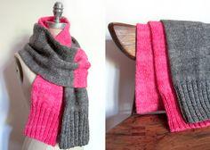 split personality scarf