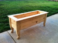 using pallets | Pallet planter box I made. I would not recommend using pallets, crappy ...
