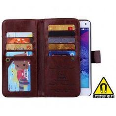 NYHET! Mobilplånbok Dubbelflip Magnetiskt skal 9 kort 3 sedelfack! Samsung Galaxy Note 4 - ALLTID FRI FRAKT hos www.CaseOnline.se   Denna mobilplånboken gör det möjligt att enkelt ta ur din mobil ur mobilväskan. Dessutom är det gott om plats med 9 kortplatser, fotoficka + 3 sedelfack! Dubbel knäppning och slät yta skyddar mot skärmen. bra skydd för din Note 4 mobil.  #samsung #galaxy #note4 #N910f #dubbelflip #skal #skydd #mobilplånbok #plånbok #mobil #caseonline #fodral