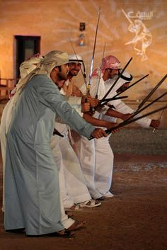 UAE Traditional Sword Dance