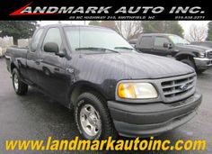 2001 #Ford #F150 XL #SuperCab Short Bed 2WD - Smithfield NC   #landmarkautoinc    landmarkautoinc.com    landmarkautoinc.org