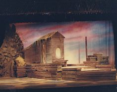 Two by Two - Act II by Rodgers and Hammerstein January 1987 Flint Central High School Theatre Magnet Scenery & Lighting Design and Stage Direction by Martin W. Jennings