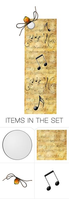 """""""Music To My Ears Bookmark"""" by m-aviles-ma ❤ liked on Polyvore featuring art"""