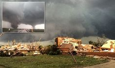 Massive, dual tornadoes caused significant damage to homes in northeast Nebraska on Monday, June 16, 2014