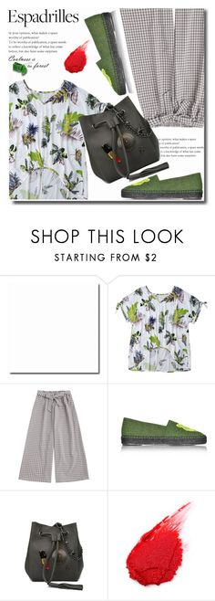 """""""Espadrilles"""" by soks ❤ liked on Polyvore featuring Kenzo and polyvoreeditorial"""