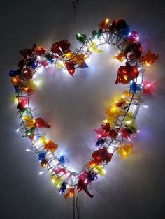 I knew there had to be another excuse to eat a tin of Quality Street out there somewhere! [Your Home is Lovely: interiors on a budget: Sweet wrapper light] Crafts For Kids, Arts And Crafts, Diy Crafts, Family Crafts, Sweet Wrappers, Quality Street, I Love Heart, Arte Popular, Twinkle Lights