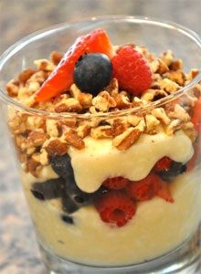 Breakfast Protein Punch   Here's a great recipe to make the night before for an easy grab-n-go breakfast straight out of the fridge. It's pa...