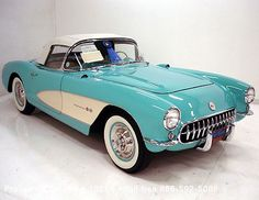 1957 Corvette Convertible - Dad's car was just like this.  He purchased it brand new in Jeffersonville, Indiana for $2800.00.